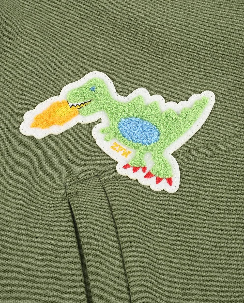 Cardigans - dark green - Kaki bombervest ZulupaPUWa - Unisex